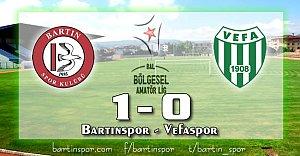 Bartınspor'dan Taraftara Hediye: 1-0