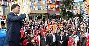 Hasankadı ve Kumluca'da Gövde Gösterisi
