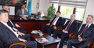 Tunç'tan SGK ve İŞKUR'a Ziyaret