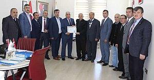 Basad'dan Meclis'e Teşekkür Ziyareti