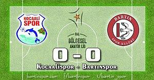 Sakarya'da Sessiz Çarşamba: 0-0