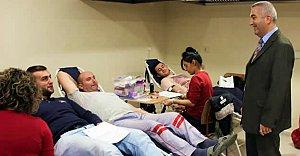 Üniversitelilerden Kan Bağışına Yoğun İlgi