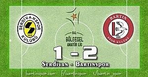 Bartınspor'da Kaptan Gemiyi Kurtardı: 2-1