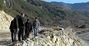Kozcağız Barajı Hızla Devam Ediyor