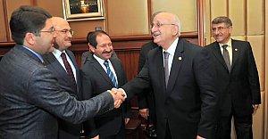 Meclis Başkanı Kahraman'a Ziyaret