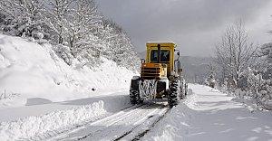 Bartın'da Kapanan 18 Köy Yolu Açıldı