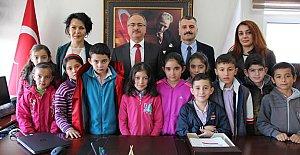 Akçalı İlkokulu'ndan Öselmiş'e Ziyaret