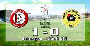 Bartınspor'un Zirve Aşkı: 1-0