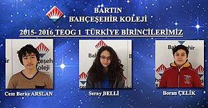 TEOG'da Zirvenin Adresi Bahçeşehir Koleji