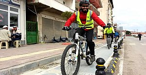 34 bisikletli Kozcağız'da