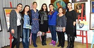 8 Mart 8 Kadın Resim Sergisi Açıldı