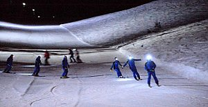 Kartalkaya'da gece kayağı