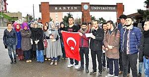 Üniversiteli Gençler Terörü Kınadı