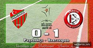 Bartınspor İstanbul'dan Şen Dönüyor: 0-1