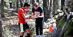 Balamba Tabiat Parkında Oryantiring Yarışı