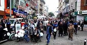 Bartın'da Engelliler Yürüyüşü