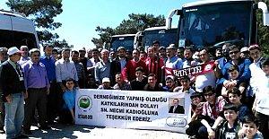 İstanbul'daki Bartınlılar Çanakkale'de