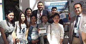Kırgızistan'da Bartın Üniversitesi Rüzgarı