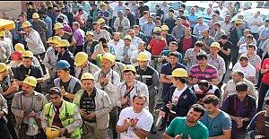 Amasra'da Madenciler Ayakta