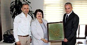 Tel Kırma Sanatkarı Maşalı'dan Vali Dirim'e Ziyaret