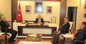 Başkanlardan Vali Dirim'e Ziyaret