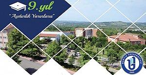 Bartın Üniversitesi 9.Yıla Merhaba Dedi