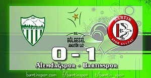 Bartınspor İstanbul'dan Şen Dönüyor:0-1