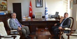Başsavcı Bozkurt'tan Rektör Kaplan'a Ziyaret