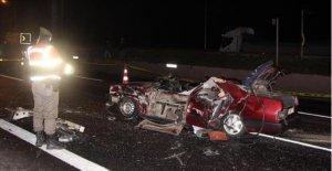 Feci Kazada 3 kişi öldü, 2 kişi ağır yaralandı