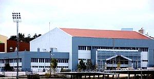 Ömertepesi Kapalı Spor Salonu Yenileniyor