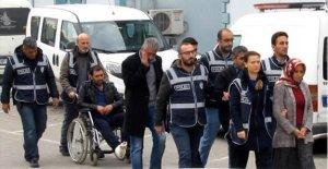 Polisten kaçarken ayağı kırılan hırsızlık şüphelisi tutuklandı