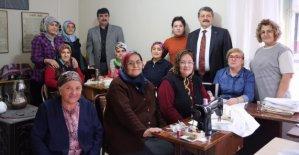 Akın'dan Kursiyerlere Ziyaret