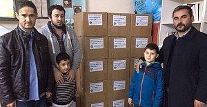 Hasankadılılar'dan Halep'e Yardım