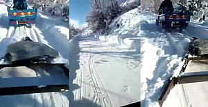 Köylüler Kar Esaretinden Kurtulmayı Bekliyor