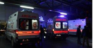 Pat pat uçuruma yuvarlandı: 1 ölü, 3 yaralı