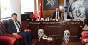 Tunç'tan TTK ve Beşel'e Ziyaret