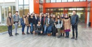 Üniversitelii Öğrenciler Bartın OSB'yi Gezdi