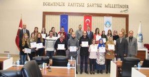1.Grup rezervasyon elemanı eğitimi tamamlandı