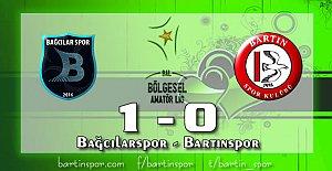 Bartınspor İstanbul'dan Eli Boş Dönüyor: 1-0