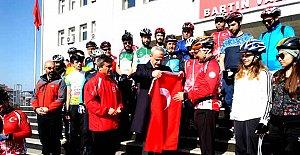 Bartınlı Bisikletliler Çanakkale Yolunda