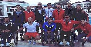 Ercan Milli Takım Kampında