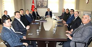 Referandum Güvenlik Toplantısı Yapıldı