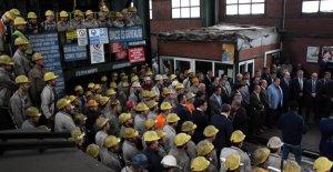 Grizuda ölen 30 işçi dualarla anıldı