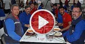 Karabükspor, Kardemir İşçisinin Bayramını Kutladı