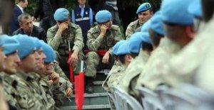 Helikopter kazasında şehit olan 13 asker için tören