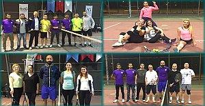 İftar Sonrası Tenis Turnuvasına Yoğun İlgi