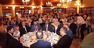İstanbul'daki Bartınlı hemşerileriyle iftar açtılar