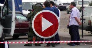 Boşanma aşamasındaki eşinin otomobiline sahte bomba düzeneği yerleştirdi
