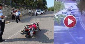 Kamyonetle Çarpışan Motosiklette 2 Genç Ağır Yaralandı