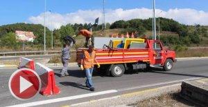 1 aydır kapalı olan Bolu geçişinin İstanbul yönü açıldı